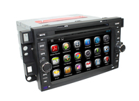 Pure Android System Car DVD With GPS Navigation System 3G Wifi Bluetooth Radio Supported For Chevrolet Captiva