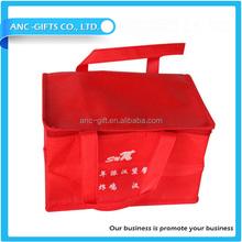 custom polyester foil aluminum shoulder strap cooler bag