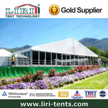 Large outdoor party tents with floor by Guangdong factory