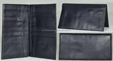 Travel Wallet & Passport Case with Genuine Leather