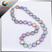 fashion new simple design pearl necklace