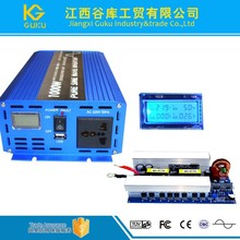12v 220v dc to ac 1000w pure sine wave power inverter