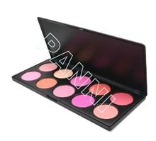 Latest branded customized contour palette blusher