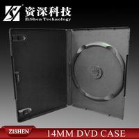 Plastic Black Dvd Case