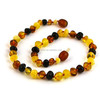 hot sale baltic amber teething necklace