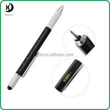YB-L01 Function ruler leveler screw drive measurement stylus Monteverde 9 in 1 multifunctional tool ballpoint pen