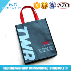 promotional silk printing ECO non woven bag