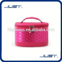 Low MOQ supplier leather toilet bag