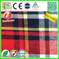 customized popular yarn dyed cotton fabric factory