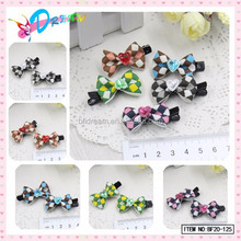 Wholesale Girls 2015 Heart Rhinestone Mini Alligator Clips