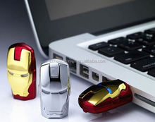 Wholesale Freesample Highspeed promotional metal star war iron man usb flash drive 128gb for Promotional gifts