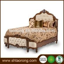 Madera antiguo rey tamaño cama