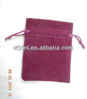 velvet bags and pouches with drawstring