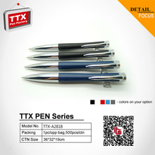 2015 office and school promotional logos metal ball pens