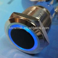 rotary selector waterproof,Export 19mm Illuminated, Anti Vandal, Stainless Steel PushButton Switches