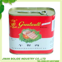 halal canned pork luncheon meat