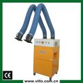 Aire chorro pulsante limpieza soldadura extractor con dos succión brazos ( 380 V / 50 Hz )