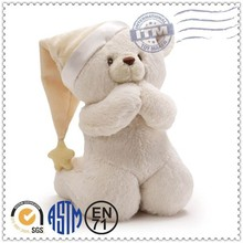 Custom design with different dimensions plush bear