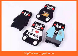 2015 new 3D Japan cartoon bear silicon cover case for iphone 5 6 6+