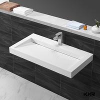 Repairable acrylic solid surface wash bowl basin,small wash basin