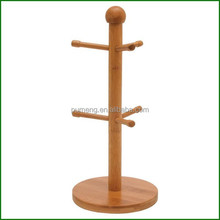 New Products Bamboo Mug Tree, Cup Holders & Kitchen Storage Wholesale