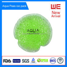 Non-toxic soft reusable PVC Gel beads ice pack
