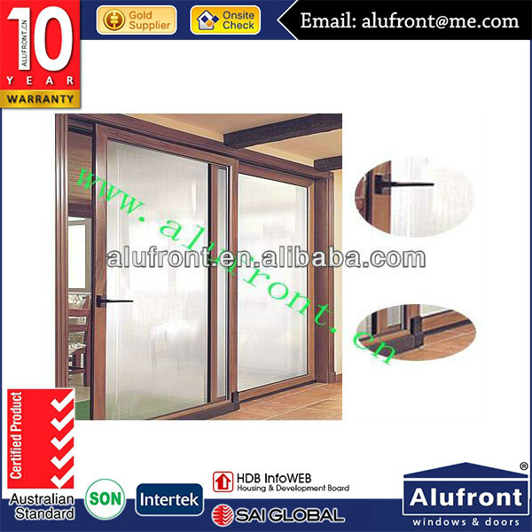 China Factory Safety Double Glazing Lift And Sliding Door
