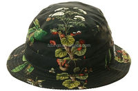 Small Order Custom Cheap Floral Blank Bucket Hats