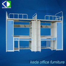 Students Modern Used Bunk Beds For Kids For Clothes Storage
