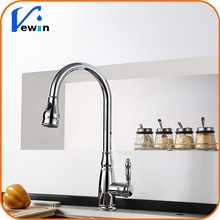 High End Extended Put Down Spray Two Functions Pull Out Kitchen Tap