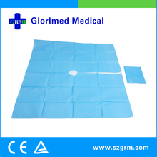 Factory Directly Supply Waterproof Non-toxic Disposable Dental Drape With CE & ISO Certification
