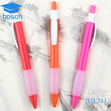 new style factory flashing promotion colorful plastic pen