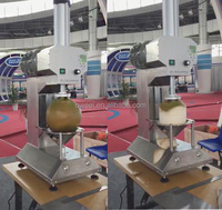 Factory price green coconut peel cutting machine price