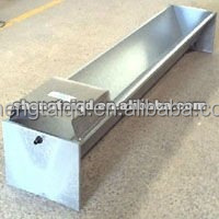 wholesale livestock galvanized water trough