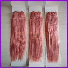 wholesale pure indian remy virgin human hair weft / remy human hair weft color 350