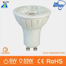 dimmer type save money spot light ceramic led gu10 cob bulb in China