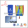 Kite promocional parafoil kite con 300 cm cola fácil de volar para la promoción de China