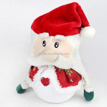 Plush/Non-woven Santa Claus Hat Christmas Hat/Snowman Hat Promotions Gifts for Christmas Party Decoration