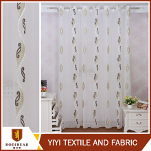 China wholesale Window treatments Embroidery valance curtain patterns