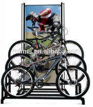 customized bicycle display stand