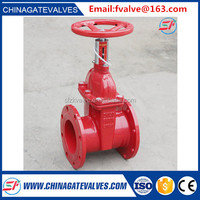 DIN/EN DN50-DN1200 big size rising stem gate valve