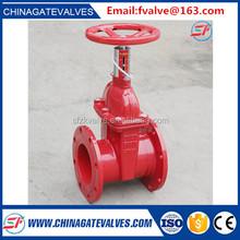 DIN/EN DN50-DN1200 big size rising stem gate valve