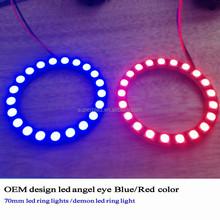 hot sale toyota camry vw angel eyes projector headlight