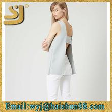 2015 fashion ladies elegant make tunic tops design
