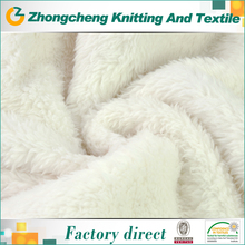 short pile artificial fur for shoes,100% polyester artificial fake fur fabric