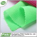 100% poliéster 3d air mesh fabric para zapatos de deporte