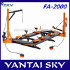china supplier new product automobile car chassis straightening bench/used auto frame machine for sale