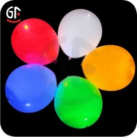 2015 Brilliant Holiday and Event Article LED Rubber Balloon with Logo