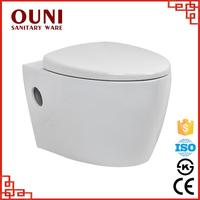 ON-715 China sanitary ware intelligent wall mounted one piece custom made toilet seats