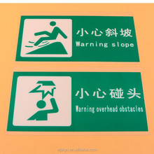 Factory Direct Die Cut Self Adhesive Warning Custom Printed Stickers